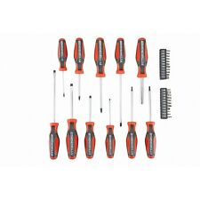 33 Pc Comfort Grip Precision Magnetic Screwdriver Set Phillips Flat Head Slotted