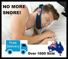 STOP SNORING CHIN STRAP - Apnoea Stopper Solution -  Anti Snore Sleep Apnea Belt