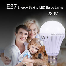 Intelligent Light Bulbs E27 12W Energy Saving Home LED Light Lamps Rechargeable