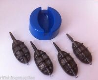 INLINE METHOD FEEDER AND MOULD SET FOR CARP FISHING - 4 & 1 FEEDER MOULD SET