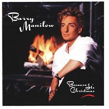 Because It's Christmas by Barry Manilow (CD, Aug-1990, Arista)