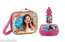 SOY LUNA DISNEY LUNCH SET|.LUNCH BAG LUNCH BOX NEW AND OFFICIAL DISNEY. Gift