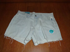 New Womens Size 16 Old Navy Light Blue Denim Jean Shorts Cut Off