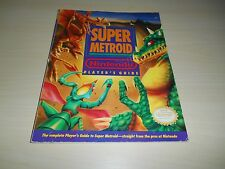 Super Metroid Strategy Guide Nintendo Player's Guide Official