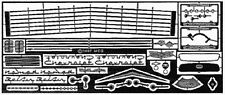 MODEL CAR GARAGE 2114 1956 CHEVY NOMAD DETAIL SET FOR RMX KIT (PHOTO ETCH)