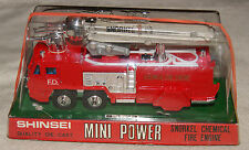 Shinsei Mini Power 4109 1:78 Snorkel Chemical Fire Engine Vintage 70s Diecast