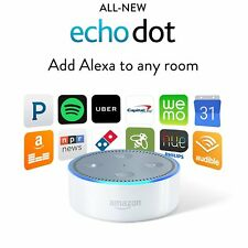 Amazon Echo Dot 2nd Generation w/ Alexa Voice Controlled Media Device - White