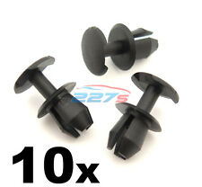 10x 8mm Plastic Trim Clips- VW, Audi & Seat, Various Locations inc. Boot Lining