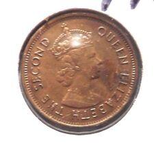 CIRCULATED 1964 10 CENTS HONG KONG COIN!  (71115)