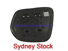 RIGHT DRIVER SIDE HOLDEN COLORADO 2012 ONWARD MIRROR GLASS WITH LED LIGHT