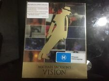 Michael Jackson's Vision (DVD, 2010, 3-Disc Set, Deluxe Vision)