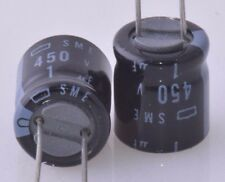 1uF 450v ALUM ELECTROLYTIC CAPACITOR 20 PCS NOS Free Shipping US Seller