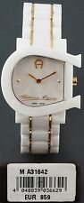 AIGNER Damen Uhr woman´s Watch weiß gold KERAMIK Keramic NEU GENUA DUE A31642
