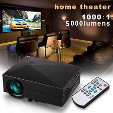 Full HD 1080P Multimedia Mini portable LED Projector home theater USB HDMI AV