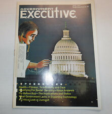 Government Executive Magazine Health And Fitness April 1974 FAL FAA 102516R