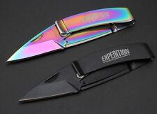 2 x Musta L-75 De l'argent Clipper Ouvre-lettre Couteau De Poche Pliant Knife