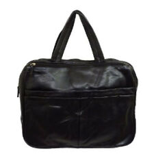 "BLACK 16"" LAPTOP NOTEBOOK BAG WORK SCHOOL CARRY CASE"