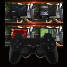 2x 2.4G USB Wireless Dual Vibration Gamepad Controller Joystick For PC Laptop WF