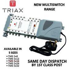 Triax NUOVO eco-Gamma-TMS 5 x 16 Satellite Connettore