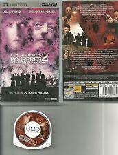 JEU PSP FILM : LES RIVIERES POURPRES 2 avec JEAN RENO ( SONY ) / EN FRANCAIS