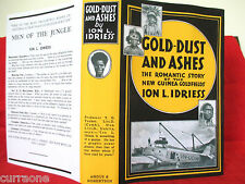 Ion L Idriess GOLD-DUST AND ASHES 1945 HC copy jacket AUSTRALIAN AUTHOR