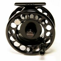 GALVAN RUSH LIGHT LT R-8 FLY REEL BLACK FOR 8/9 WT ROD MADE IN USA FREE $80 LINE
