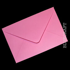 10 x A6 C6 Candy Pink 100gsm Envelopes 114 x 162mm - 1p Auction