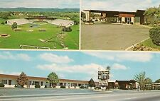 City View Motel in Williamsport PA Roadside Postcard