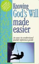 Knowing God's Will Made Easier, Water, Mark, Good Book