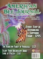 AMERICAN BEE JOURNAL Superior Frame Hamilton Family Pollen 12/14 FREE SHIPPING