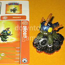 DROBIT Skylanders Trap Team NEW figure+card+code mini Drobot sidekick FAST SHIP!