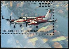 Hawker Beechcraft B350 King Air Ambulance (RFDS Flying Doctors) Aircraft Stamp