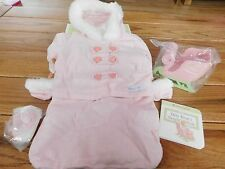 AMERICAN GIRL BITTY BABY BUNDLE UP BUNTING 2006  NEW IN BOX RETIRED