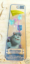 DISNEY MONSTERS SULLEY EARPLUGS! BRAND NEW! FREE SHIP! MONSTERS UNIVERSITY! NEW!
