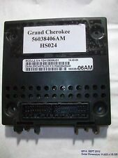 2000 JEEP GRAND CHEROKEE JUNCTION BOX BCM MODULE BODY CONTROL 56038406AM #HS024