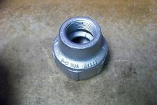 """NOS Cooper Crouse-Hinds REC53 Reducer, 1-1/2"""" X 1"""" Feraloy Iron Alloy"""