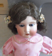 BIG Vintage 1910s Bisque Composition Morimura Bros MB Girl Doll to Restore 20""