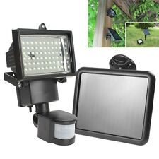 Outdoor Garden Floodligh Solar Power Motion Sensort 60 LED PIR Security Light
