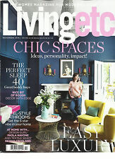 LIVING ETC, THE HOMES MAGAZINE FOR MODERN LIVING   CHIC SPACES  NOVEMBER, 2016