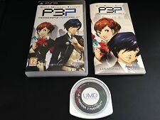 Shin Megami Tensei: Persona 3 Playstation Portable PSP System Complete Game and