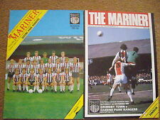 GRIMSBY TOWN V QUEEN'S PARK RANGERS 2 PROGRAMMES
