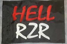 Custom HELL RZR  Flag for  ATV Dirt Bike Dune Safety Flag