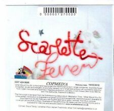 (BS554) Scarlette Fever, What Would You Do - DJ CD