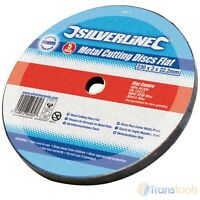 Silverline Metal Cutting Discs 230mm x 3mm x 22.2mm 5 Pack Angle Grinder 186810