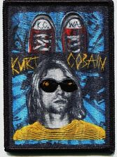 KURT COBAIN k.c. wa EMBROIDERED IRON-ON PATCH Free Shipping p4218 nirvana bleach