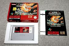 Super Nintendo - Wing Commander - Snes - Complete - Boxed + Instructions - VGC