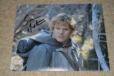 SEAN ASTIN  signed Autogramm 20x25 cm In Person HERR DER RINGE LORD OF THE RINGS