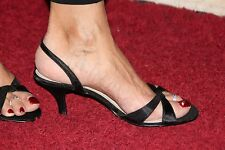 BHS VERY SEXY Black sling back ladies shoe size 5 NEARLY NEW
