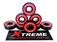 Pack 8 608RS XTREME ABEC 11 RED RODAMIENTOS ALTO RENDIMIENTO TABLA DE SKATEBOARD