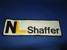 NL Shaffer Manufacturing & Distribution Jacket Iron On Sewing Patch #1